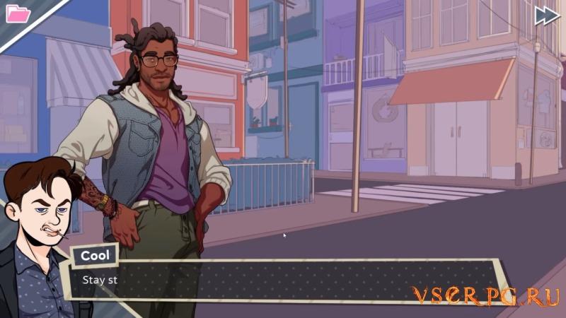 Dream Daddy: A Dad Dating Simulator screen 1