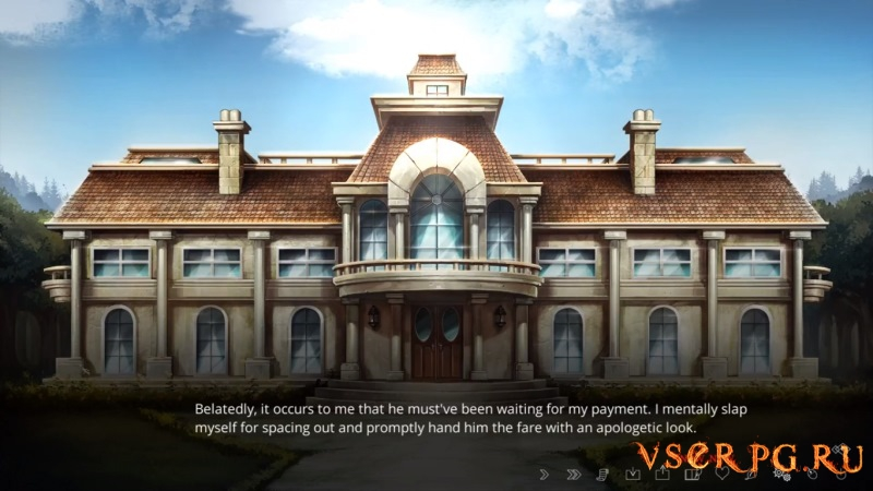 The Letter Horror Visual Novel screen 2