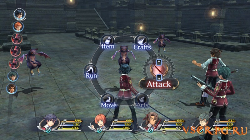 The Legend of Heroes: Trails of Cold Steel screen 2