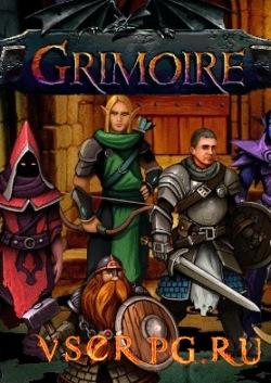 Постер игры Grimoire Heralds of the Winged Exemplar
