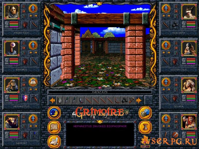 Grimoire Heralds of the Winged Exemplar screen 2