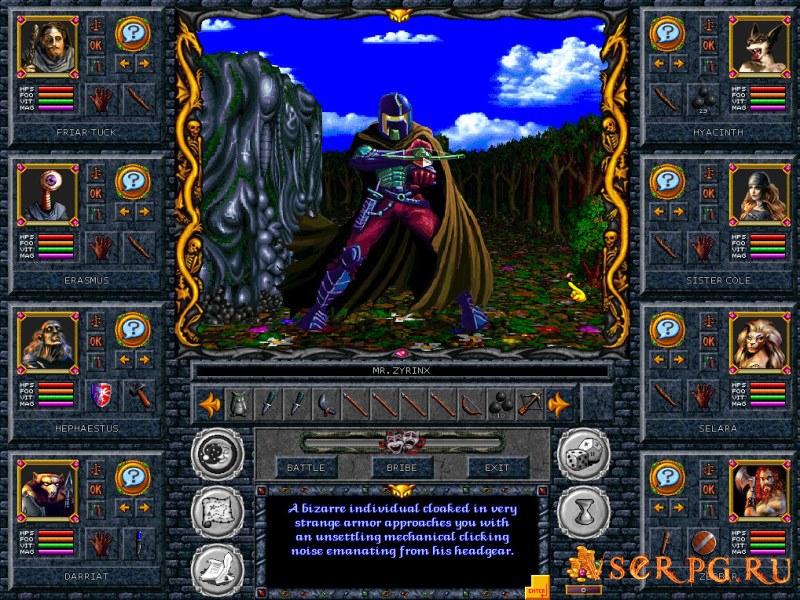 Grimoire Heralds of the Winged Exemplar screen 1