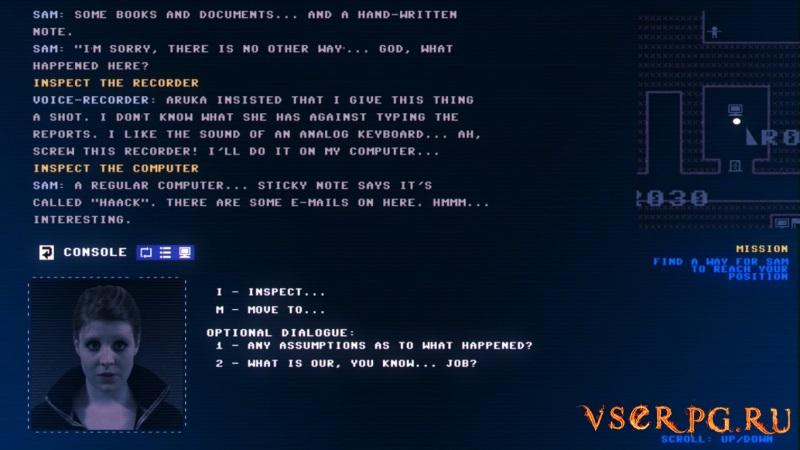 Code 7 screen 1