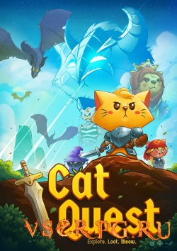 Постер игры Cat Quest