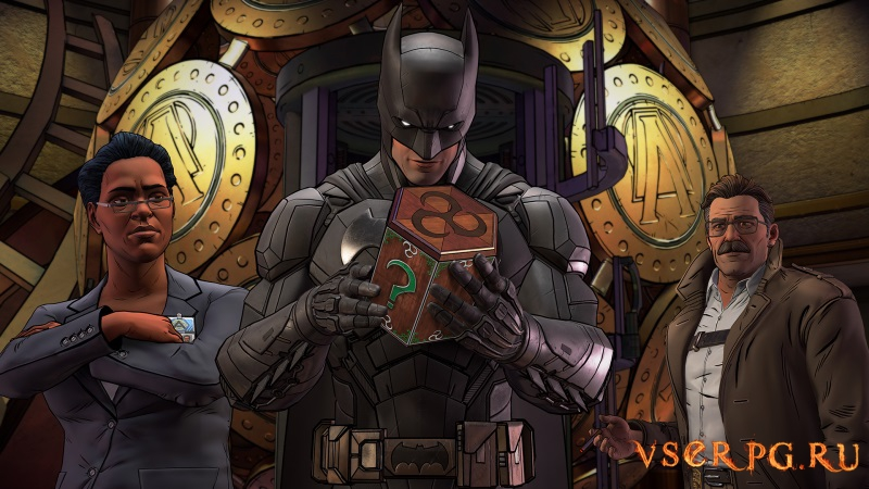 Batman: The Enemy Within - The Telltale Series screen 3