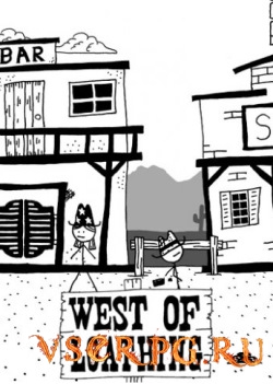 Постер игры West of Loathing