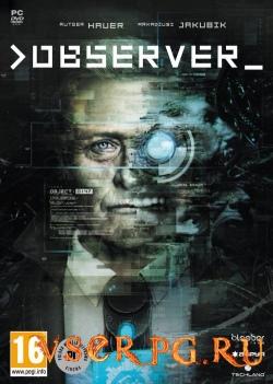 Постер игры Observer