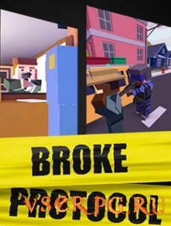 Постер BROKE PROTOCOL: Online City RPG