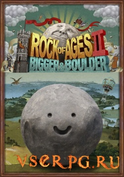Постер игры Rock of Ages 2: Bigger & Boulder
