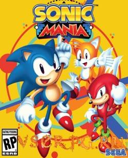 Постер игры Sonic Mania