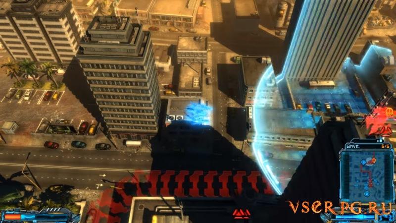 X-Morph: Defense screen 3