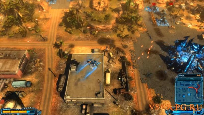 X-Morph: Defense screen 2