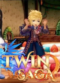 Постер игры Twin Saga