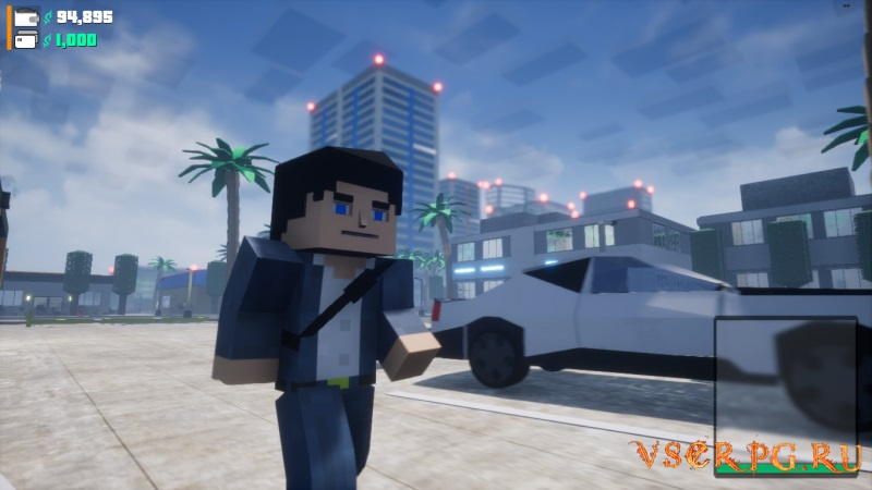 BLOCK WARRIORS Open World Game [GTA Minecraft] screen 2