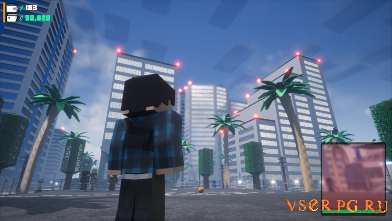 BLOCK WARRIORS Open World Game [GTA Minecraft] screen 1