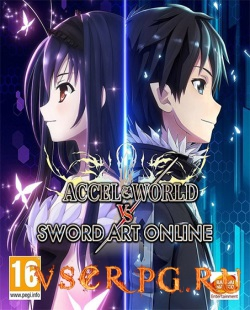 Постер игры Accel World VS Sword Art Online Deluxe Edition