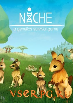 Постер игры Niche a genetics survival game
