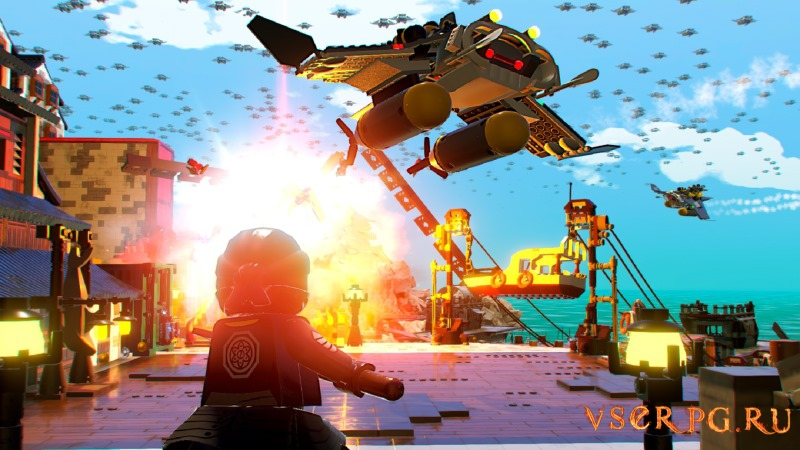 The LEGO NINJAGO Movie Video Game / ЛЕГО НИНДЗЯГО Игра по фильму screen 1