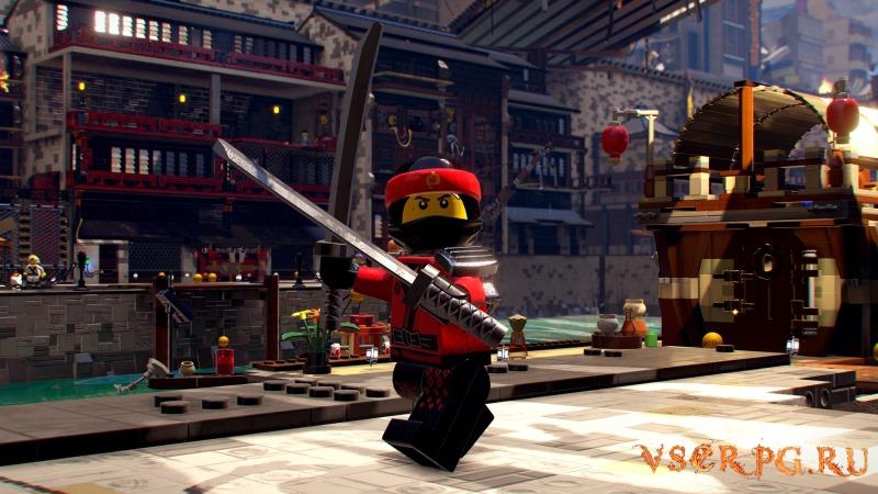 The LEGO NINJAGO Movie Video Game / ЛЕГО НИНДЗЯГО Игра по фильму screen 2