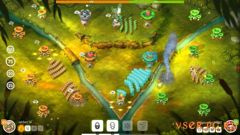 Mushroom Wars 2 screen 1
