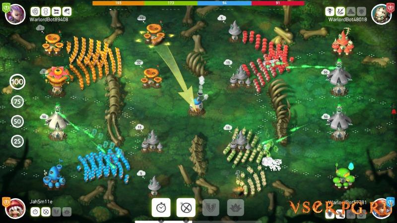 Mushroom Wars 2 screen 2