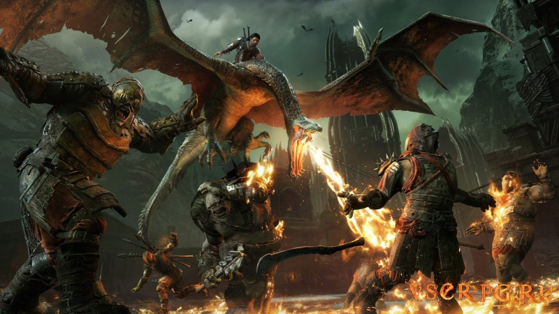 Middle-earth Shadow of War GOLD screen 1