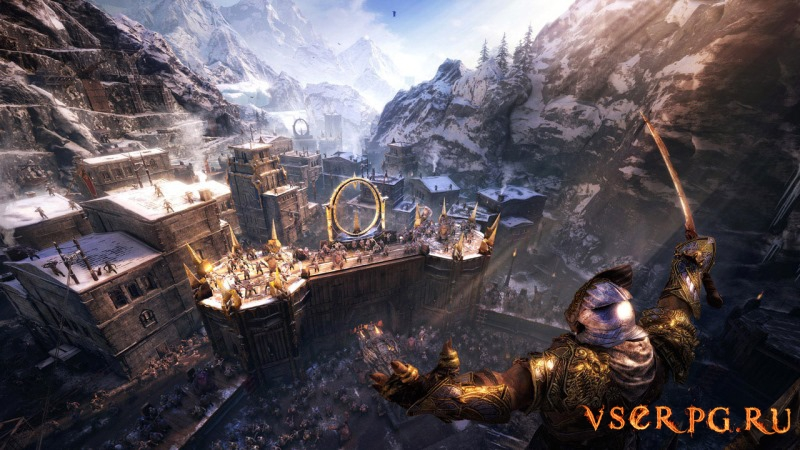 Middle-earth Shadow of War GOLD screen 2