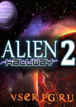 Постер игры Alien Hallway 2
