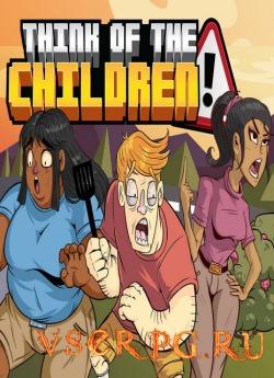 Постер игры Think of the Children