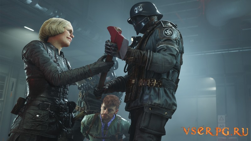Wolfenstein 2 The New Colossus screen 2