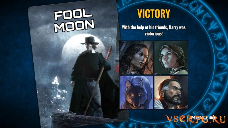 Dresden Files Cooperative Card Game screen 2