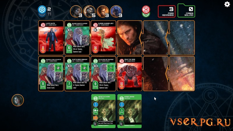 Dresden Files Cooperative Card Game screen 3