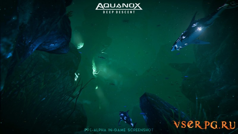 Aquanox Deep Descent screen 1