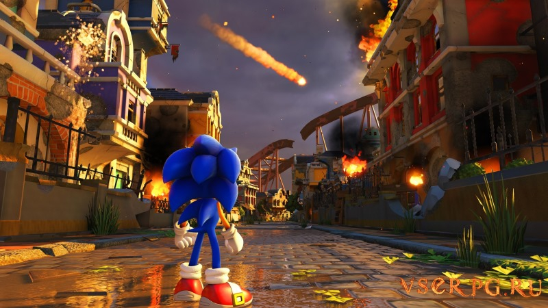 Sonic Forces screen 1