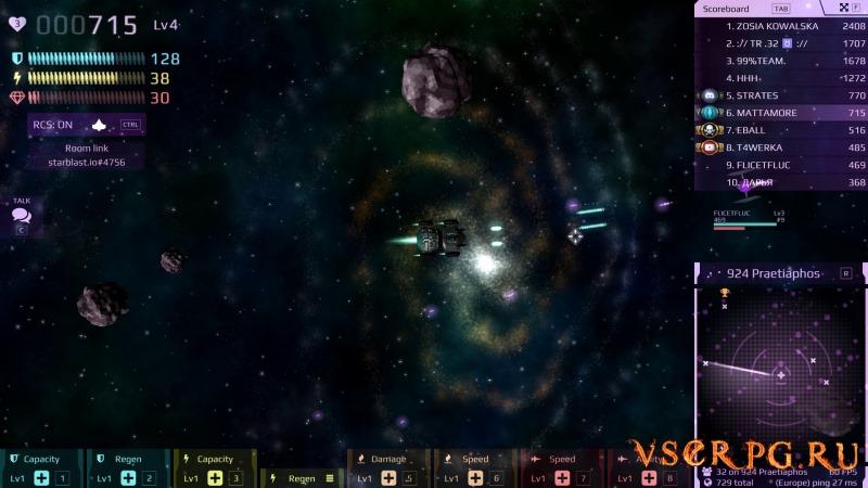 Starblast screen 2