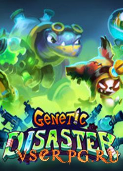 Постер игры Genetic Disaster