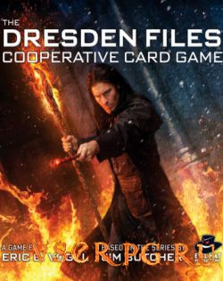 Постер Dresden Files Cooperative Card Game
