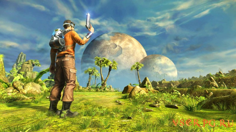 Outcast Second Contact screen 1