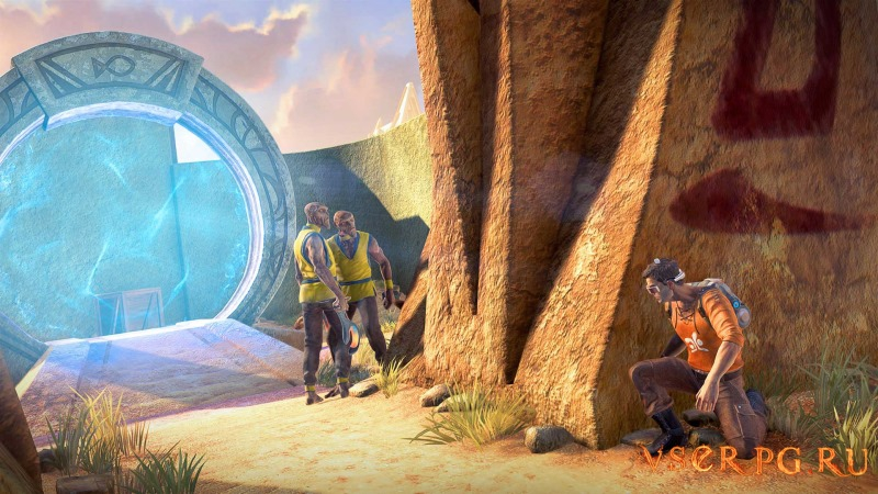 Outcast Second Contact screen 2