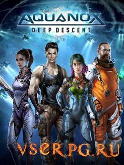 Постер игры Aquanox Deep Descent