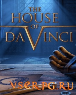 Постер игры The House of Da Vinci