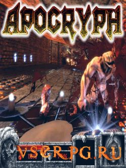 Постер игры Apocryph an old-school shooter