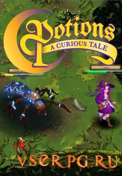 Постер игры Potions A Curious Tale