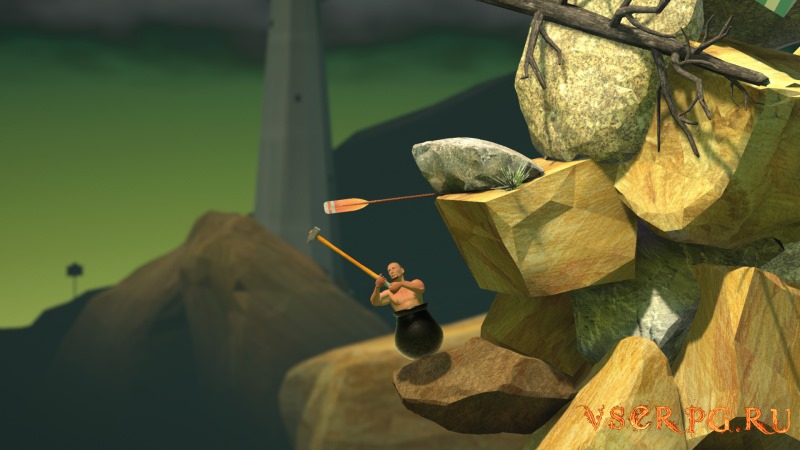 Getting Over It with Bennett Foddy screen 2