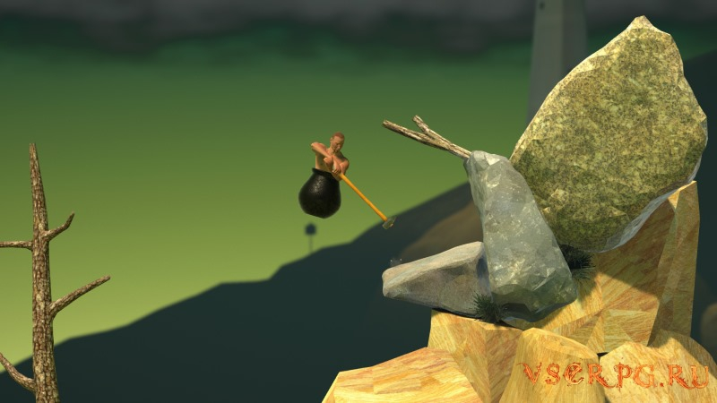 Getting Over It with Bennett Foddy screen 1