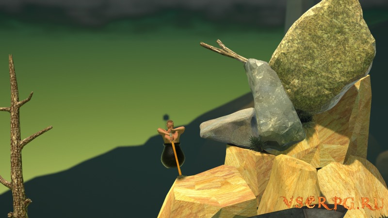 Getting Over It with Bennett Foddy screen 3
