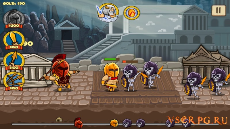 Heroes of Myths Warriors of Gods screen 3
