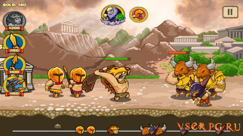 Heroes of Myths Warriors of Gods screen 2