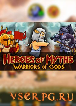 Постер игры Heroes of Myths Warriors of Gods