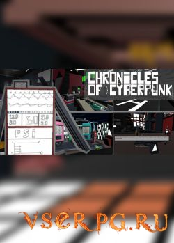 Постер игры Chronicles of cyberpunk